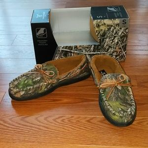 True Timber Cano slippers slip ones Sz S 7/8 NIB